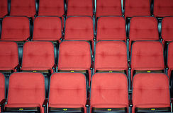 Vacant seats of a theater Royalty Free Stock Photography