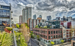 Vacant Seattle Streets Royalty Free Stock Image