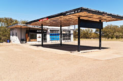 Vacant Service Station Royalty Free Stock Photos