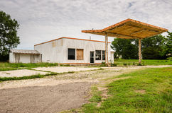 Vacant Service Station Stock Images