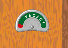 Vacant sign. Illustration of vacant sign vector illustration