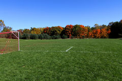 Vacant Soccer Field Royalty Free Stock Photos