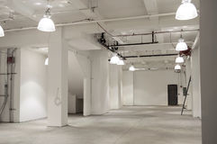 Vacant Space. Vacant retail space in New York City Royalty Free Stock Photography