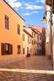 Vacant Street in Fazana. Town in Croatia Royalty Free Stock Photography