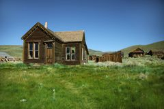 Vacant Town Home in Bodie California Royalty Free Stock Image