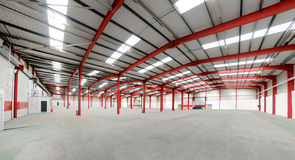 Vacant Warehouse interior Royalty Free Stock Photography