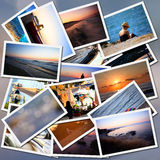Vacantion collage Royalty Free Stock Image