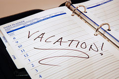 Vacanza! Fotografie Stock