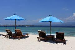Vacanza della spiaggia Immagini Stock Libere da Diritti
