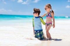Vacanza della spiaggia Fotografia Stock Libera da Diritti