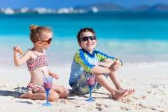 Vacanza della spiaggia Immagini Stock
