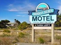 Vacanza della spiaggia di Bandon, costa del Pacifico dell'Oregon fotografia stock libera da diritti