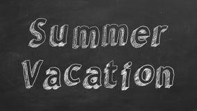 Vacanza di estate illustrazione di stock