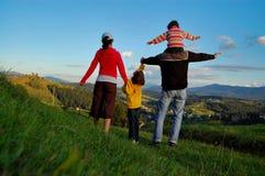 Vacanza di famiglia Fotografia Stock Libera da Diritti