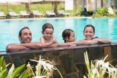 Vacanza di famiglia Fotografie Stock