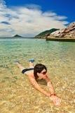 Vacanza di paradiso fotografia stock