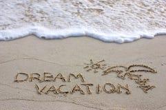 Vacanza di sogno Fotografie Stock Libere da Diritti