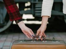 Vacanza di viaggio del pericolo di furto di raggiro di sicurezza di viaggio fotografia stock