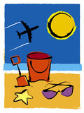 Vacanza estiva Fotografia Stock