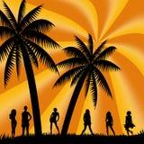 Vacanza estiva Illustrazione di Stock