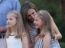 Vacanza estiva dei royals della Spagna 019 Fotografia Stock Libera da Diritti