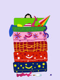 Vacanza felice Illustrazione Vettoriale