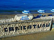 Vacanza in mare Fotografia Stock Libera da Diritti