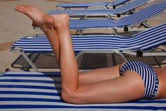 Vacanza messa a nudo Fotografia Stock