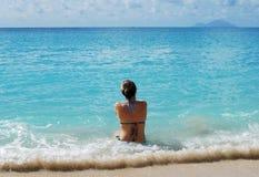 Vacanza nei Caraibi Fotografia Stock Libera da Diritti