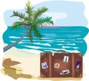 Vacanza - paesaggio dello splendit Royalty Illustrazione gratis