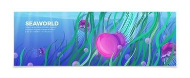 Vacanza subacquea a di viaggio di LIFE-Nature del mondo del mare Fotografia Stock