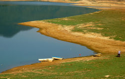 Vacanza sul lago   Fotografia Stock