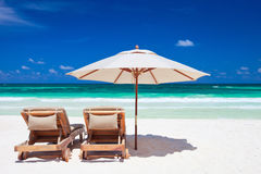 Vacanza tropicale Immagini Stock