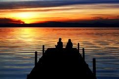 Vacanze del lago Immagini Stock Libere da Diritti