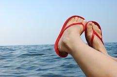 Vacanze del mare fotografie stock