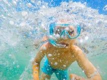 Vacanze estive alla spiaggia fotografia stock