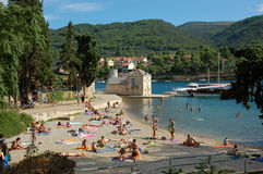 Vacanze estive in Croazia Fotografie Stock