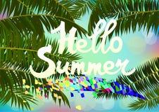 Vacanze estive e progettazione di viaggio Immagine Stock Libera da Diritti