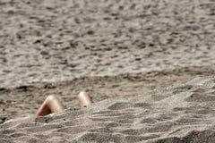 Vacanze estive sulla spiaggia Immagini Stock Libere da Diritti