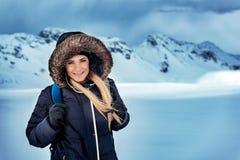Vacanze invernali attive fotografia stock