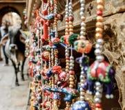 Vacas de Jaisalmer, Rajasthan, Índia Foto de Stock Royalty Free