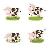 Vacas lindas ilustración del vector