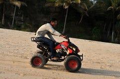 Vacatin na praia de Klayar, Pacitan Fotos de Stock