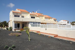 Vacation apartments on Canary Island Fuerteventura Stock Photography