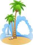 Vacation background Royalty Free Stock Photos