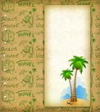 Vacation background Royalty Free Stock Images
