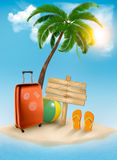 Vacation background. Royalty Free Stock Images