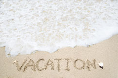 Vacation background Royalty Free Stock Photo