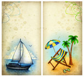 Vacation backgrounds Royalty Free Stock Image