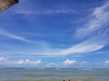 Beach Arraial D& x27;ajuda- Bahia/Brasil stock photography